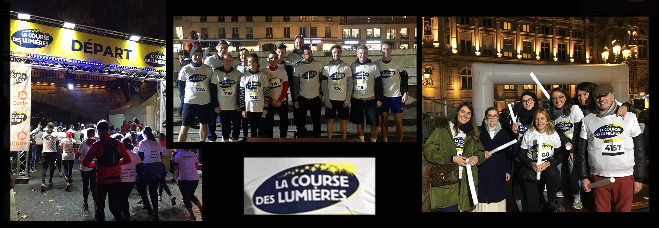 Montpensier Finance a participé pour la 2ème fois à la Course des Lumières!