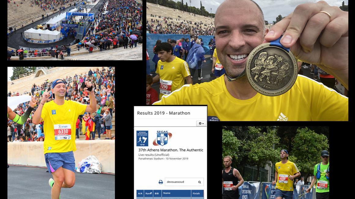Montpensier Finance participe au marathon d'Athènes 2019 !